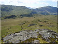 NY2103 : Descending High Scarth Crag by Michael Graham
