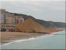 SZ1191 : Boscombe: a mountain of sand by Chris Downer