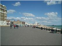 TQ2804 : Hove Esplanade by Paul Gillett