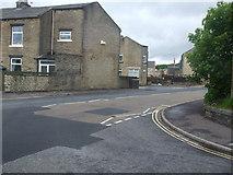 SE0724 : Warley Road junction by Glyn Drury