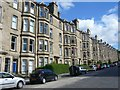 NT2474 : Tenements, Comely Bank by kim traynor