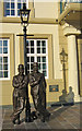 SD2878 : Laurel & Hardy statue by Ian Taylor