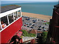 TR2235 : Leas Cliff Funicular Railway, Folkestone by Oast House Archive