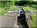 SJ6544 : Audlem Locks (No 15), Shropshire Union Canal, Cheshire by Roger  Kidd