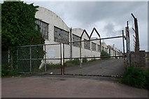 SO6401 : Derelict Industrial buildings by jeff collins