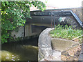 TQ3798 : Bridge below Enfield Lock by Stephen Craven