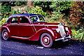 C0221 : Glenveagh National Park - Old car at castle entrance by Joseph Mischyshyn