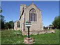 TF9521 : St Bartholomews Church, Brisley, Norfolk by gary faux