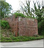 SE8565 : Remains of Wharram Rly Bridge by Matthew Hatton