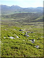 NN9464 : Bouldery north east slopes of Meall an Daimh by Russel Wills