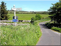 NU0011 : Road junction near Alnham by Oliver Dixon