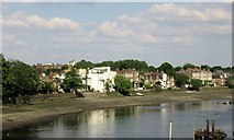 TQ1977 : Strand on the Green, on the River Thames at Chiswick by Chris Reynolds