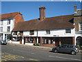 TQ7736 : Phillip's Man Shop & HSBC, High Street, Cranbrook, Kent by Oast House Archive