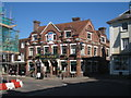 TQ7736 : The White Horse Public House, High Street, Cranbrook, Kent by Oast House Archive