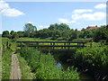 TG1101 : A small footbridge by Ashley Dace