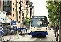 J3474 : Express bus, Belfast by Albert Bridge