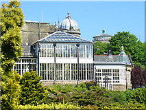 SK0573 : Conservatory, Buxton Pavilion by Colin Smith