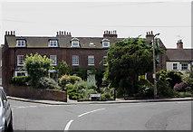 TQ1666 : Corner of Station Road & Watts Road, Thames Ditton by David Kemp
