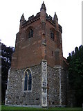 TL8530 : The Tower at St. Andrews Church Colne Engaine by PAUL FARMER