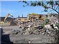 NT2472 : Fountain Brewery demolition by kim traynor