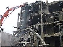 NT2572 : Simpson Maternity Pavilion demolition by kim traynor