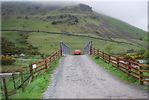 NY1807 : Bridge over Lingmell Beck by N Chadwick
