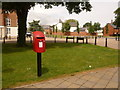 SY6794 : Charlton Down: postbox № DT2 536, Sherren Avenue by Chris Downer