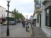 ST5038 : Towards the town centre, Glastonbury by Pauline E