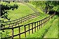 SU6077 : Gallops near Basildon Park by Graham Horn