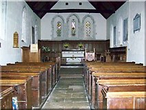 SU8014 : Interior, St Peter's Church, East Marden by Maigheach-gheal