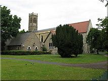 TQ3266 : St. James Church, Croydon by Dr Neil Clifton