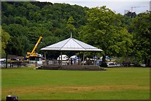 SU7682 : The bandstand in Mill Meadow by Steve Daniels