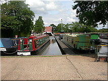SP0272 : Alvechurch, marina by Mike Faherty