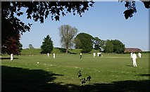 SU1069 : Cricket at Avebury by Derek Harper