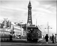 SD3036 : A traditional view of Blackpool by Dr Neil Clifton
