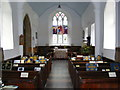 TM1659 : Inside St Catherine's Church, Pettaugh by Adrian Cable