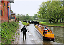 SO8453 : Diglis Locks by Pierre Terre