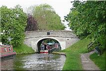 SJ8512 : Tavern Bridge No 19, at Wheaton Aston, Staffordshire by Roger  Kidd