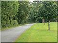 SJ4159 : Drive to Eaton Hall by Alan Murray-Rust