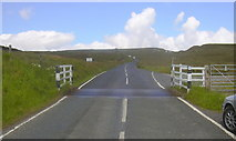 SD7738 : Cattle Grid, Clitheroe Road by Robert Wade
