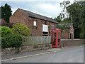 SJ4159 : Barn on Church Lane by Alan Murray-Rust