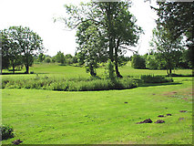 TG2202 : Dunston Hall Hotel - the golf course by Evelyn Simak