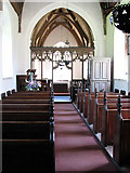 TG2202 : The church of St Remigius - view east by Evelyn Simak