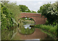 SO9159 : Lake Bridge, Worcester and Birmingham Canal by Pierre Terre
