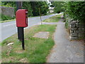 SY6588 : Winterborne St. Martin: postbox № DT2 104 by Chris Downer