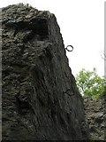 NT0783 : Shooting Hoops, Gellet Rock by Richard Webb