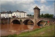 SO5012 : Monnow Bridge by Richard Croft