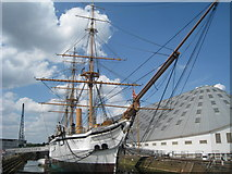 TQ7569 : HMS Gannet, Chatham Dockyard, Kent by Oast House Archive