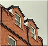 J3472 : Terrace apartments, Belfast (2) by Albert Bridge