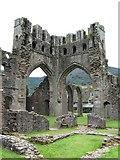 SO2827 : Llanthony Priory by Richard Smith